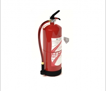 Extintor para metales tipo D