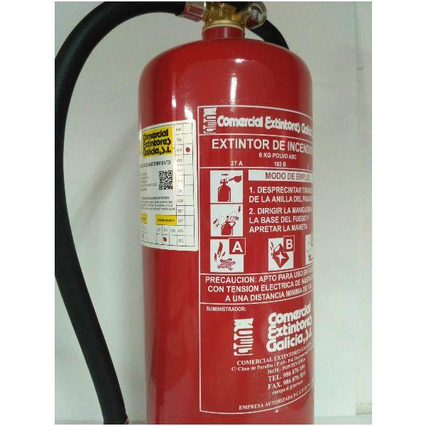 Instalación y Mantenimiento de Extintores Portátiles